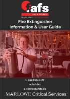 FAFS Fire Extinguisher Information User Guide